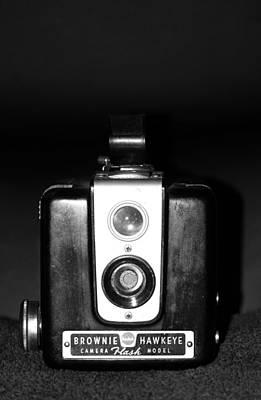 Vintage Camera Poster by Cynthia Guinn