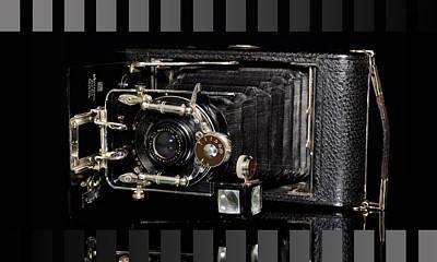 Vintage Camera Ernemann Poster by Tommytechno Sweden