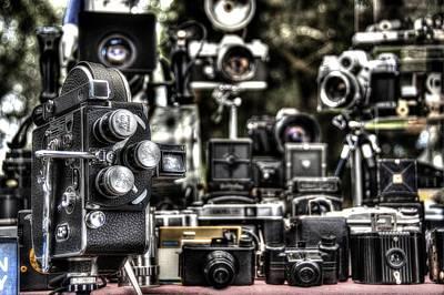 Vintage Camera Poster