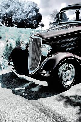 Vintage Ford Car Art 1 Poster by Lesa Fine