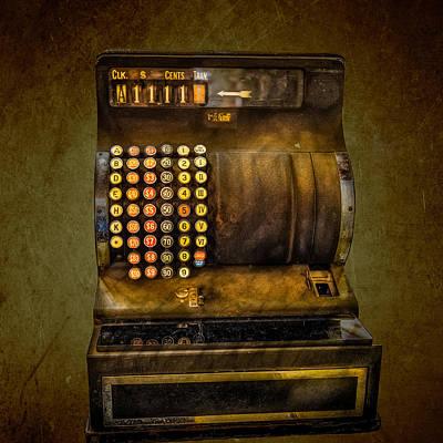 Vintage Cash Register Poster by Paul Freidlund