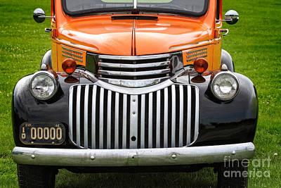 Vintage Chevrolet Pickup Poster