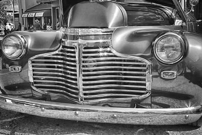 Vintage Chevrolet Poster by Theresa Tahara