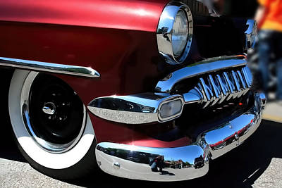Vintage Chevy Grill  Toothy Chrome Poster
