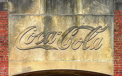 Vintage Coca Cola Bottling Plant Portal - Frederick Md Poster by Michael Mazaika