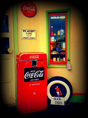 Vintage Coca Cola Poster by Randall Weidner