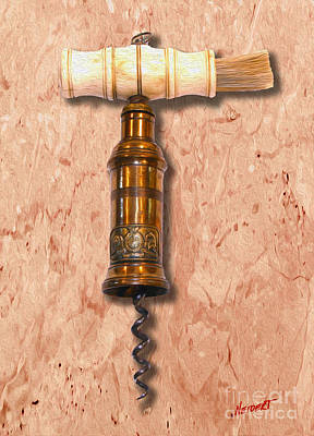 Thomason Corkscrew Circa 1802 Poster by Jon Neidert