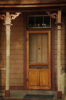 Vintage Doorway Poster
