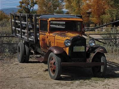 Vintage Ford Truck 2 Poster