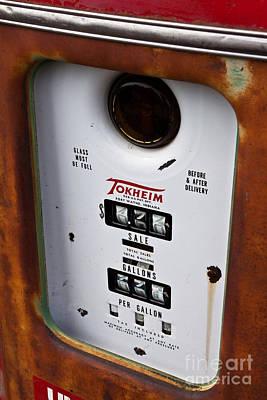 Vintage Fuel Pump Poster