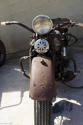 Vintage Harley Poster