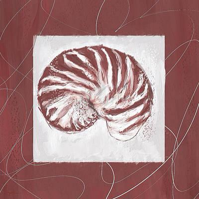 Vintage Hues- Marsala Pantone 18-1438 Poster by Lourry Legarde