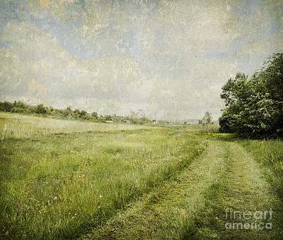 Vintage Landscape Poster