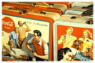 Vintage Lunch Boxes Poster