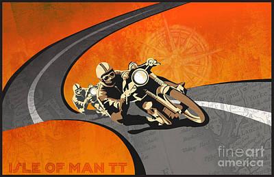 Vintage Motor Racing  Poster