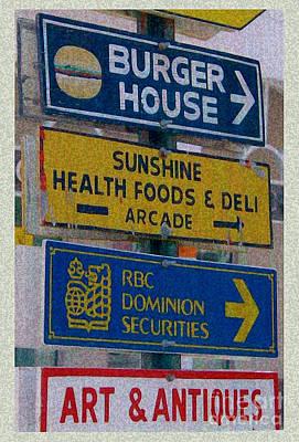 Vintage Nassau Bahamas Sign Poster by Ecinja Art Works