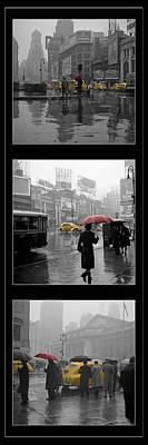 Vintage New York Montage Poster