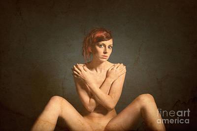 Vintage Nude 5 Poster by Jochen Schoenfeld