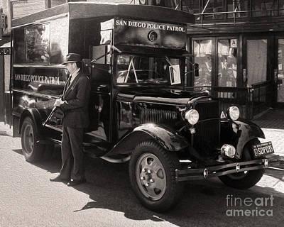 Vintage Paddy Wagon Poster