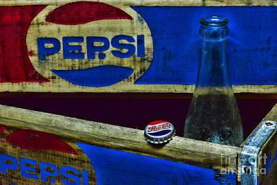 Vintage Pepsi-cola Poster by Paul Ward