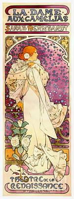 Vintage Playbill 1896 Poster
