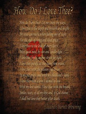Vintage Poem 4 Poster