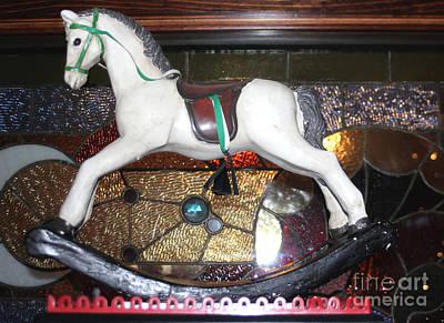 Vintage Rocking Horse Poster