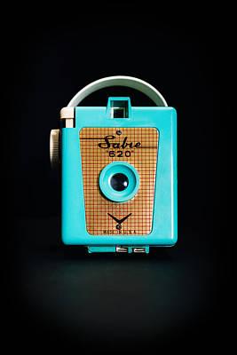 Vintage Sabre 620 Camera Poster by Jon Woodhams