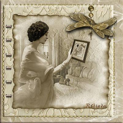 Vintage Vanity Poster by Giada Rossi