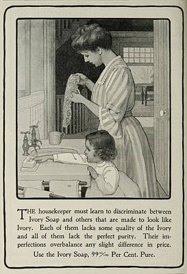 Vintage Victorian Soap Advert Poster
