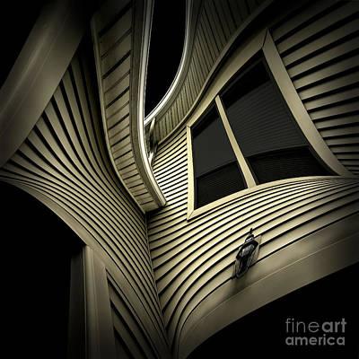 Vinyl Geometry Poster by Walt Foegelle