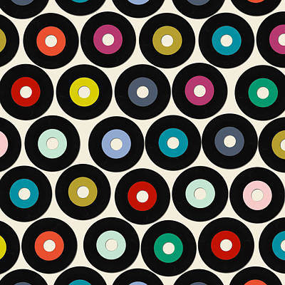 Vinyl Poster by Sharon Turner