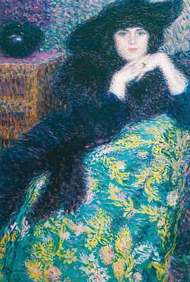 Violette Poster by Enrico della Leonessa