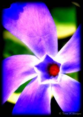 Violetti Poster by Terri K Designs