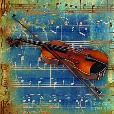 Violin Collection Poster