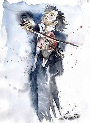 Violine Player 1 Poster