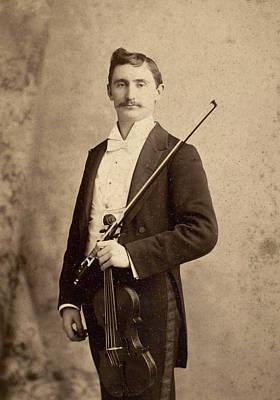 Violinist, C1900 Poster by Granger