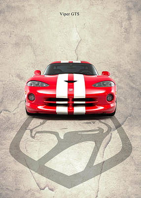 Viper Gts Poster by Mark Rogan