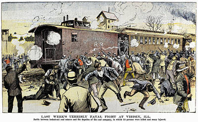 Virden Massacre 1898 Poster