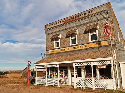 Poster featuring the photograph Virgelle Mercantile by Sue Smith