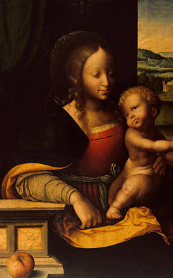 Virgin And Child Poster by Joos van Cleve