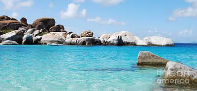 Virgin Islands The Baths Poster