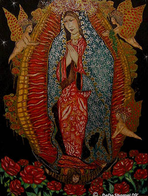 Virgin Of Guadalupe  Poster by Dede Shamel Davalos