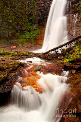 Poster featuring the photograph Virginia Cascades by Aaron Whittemore