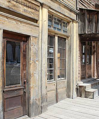 Virginia City Storefronts Poster