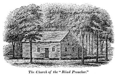 Virginia Rural Church Poster by Granger