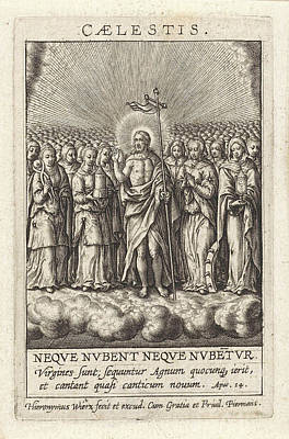 Virtue Of Heaven, Hieronymus Wierix Poster