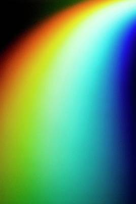 Visible Light Spectrum Poster by Crown Copyright/health & Safety Laboratory Science Photo Library