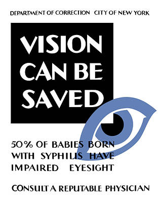 Vision Can Be Saved - Wpa Poster