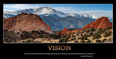Vision - Inspirational Poster by Gregory Ballos